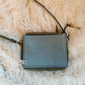 Fossil Sage Mini Bag *never used!* 🌿